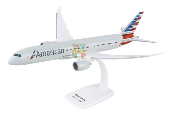 Boeing 787-9 American 1:200 Flight Miniatures