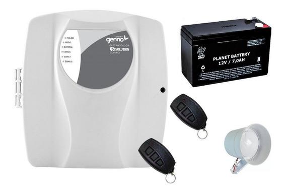 Central Genno Revolution Control, Bateria 2 Controle, Sirene