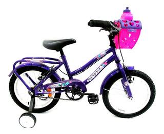 Bicicleta Playera Halley Full Rodado16 Dama