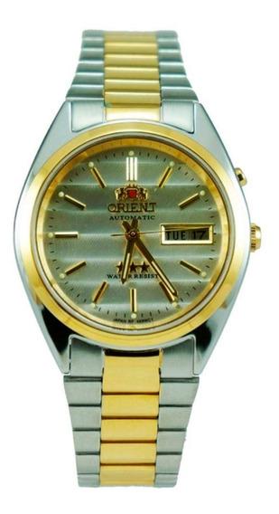 Relógio Orient Masculino Ref: 469wc1 B1ks Diâmetro 3,6cm
