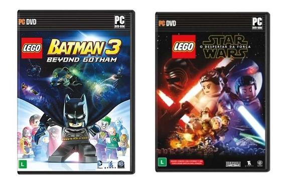 Combo Jogos Lego Batman 3 + Lego Star Wars O Despertar Da Força - Pc