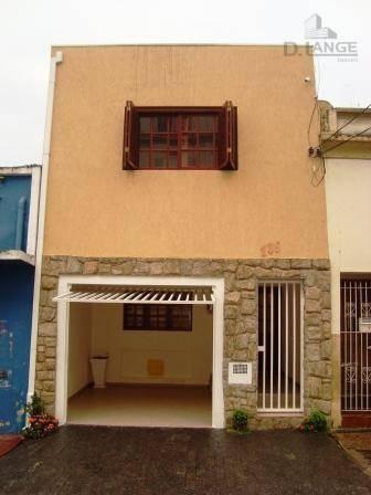 Casa Residencial À Venda, Vila Industrial, Campinas. - Ca6203