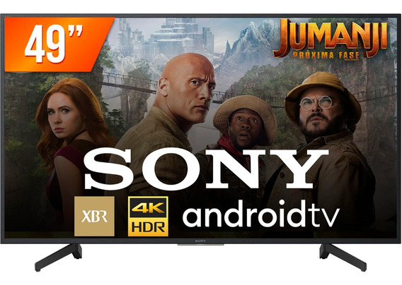 Smart Tv Led 49 4k Sony Xbr-49x805g 4 Hdmi 3 Usb Wifi