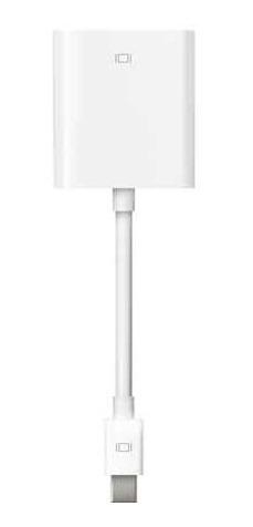 Adaptador Mini Port Vga Macbook Branco Apple Mb572beb