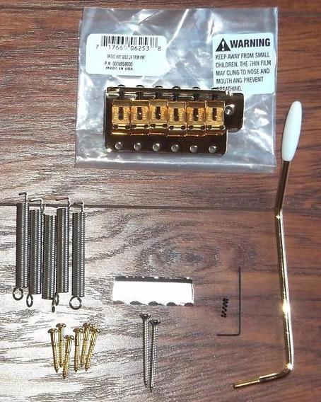 Ponte Fender Dourada Srv Completa Original