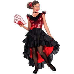 9af8dd45a Disfraz De Dama Española Para Niñas - Vestuario y Calzado en Mercado ...