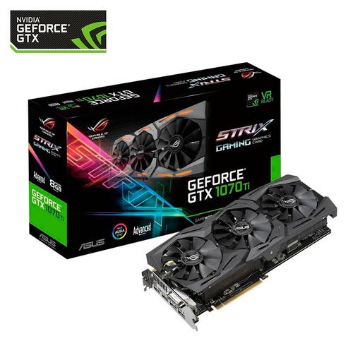 Nvidia Geforce Gtx 1070 Ti Asus Rog Strix 8gb Gaming