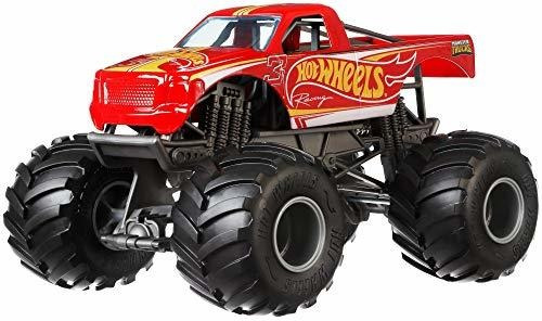 Ruedas Calientes Monster Truck Racing Vehiculo