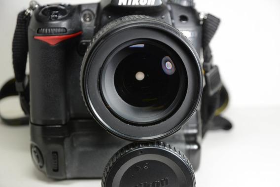 Nikon D7000 + Grip Bower + Nikon 18-105 Vr 75k Cliques