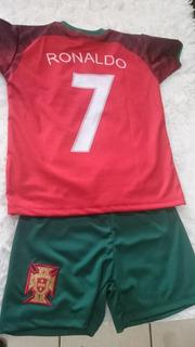 Camisa Infantil Seleção Portugal Cr7 I Loreto Sports