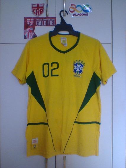 Camisa Brasil 2002 Comemorativa Guaraná.