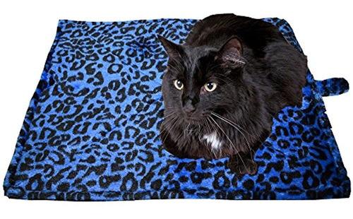 Imagen 1 de 5 de Colchoneta Termica Para Mascotas O Gatos Para Calentar A Lo