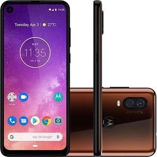 Motorola Moto One Vision Bronze 128gb | Seminovo