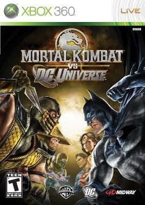 Mortal Kombat Vc Dc Xbox 360 Midia Fisica