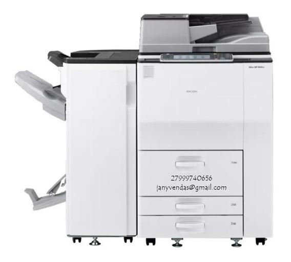 Mp 9003 Impressora Multifuncional Laser Preto E Branco
