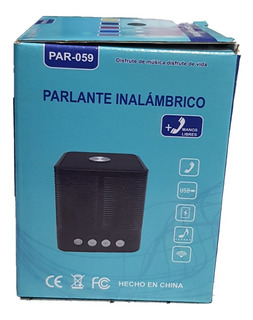 Parlante Portatil Bluetooth Inova