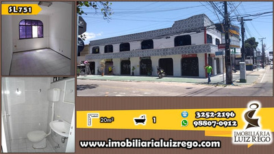 Sl751- Sala Comercial No Joaquim Távora, 20m2, Sem Taxa Cond