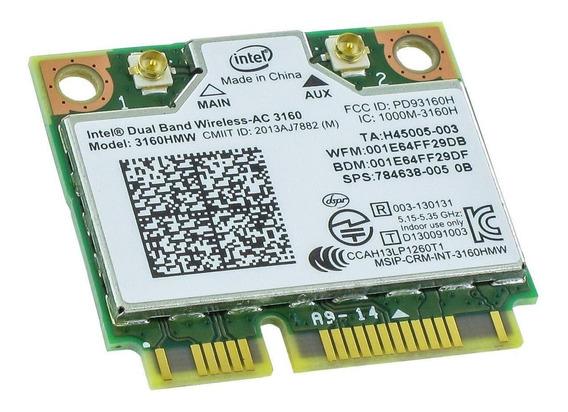 Intel Dual Band Wireless - Ac 3160