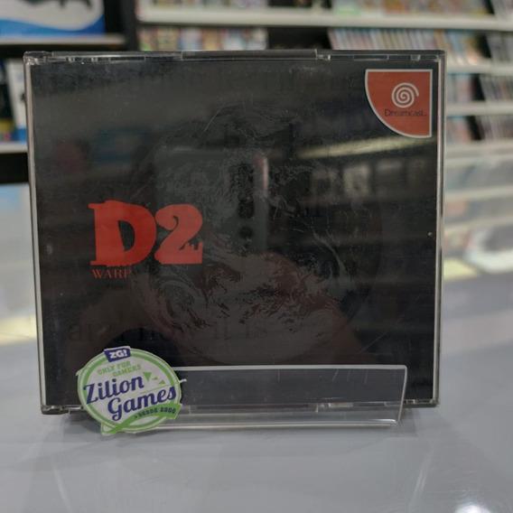 D2 - Dreamcast - Original - Impecável
