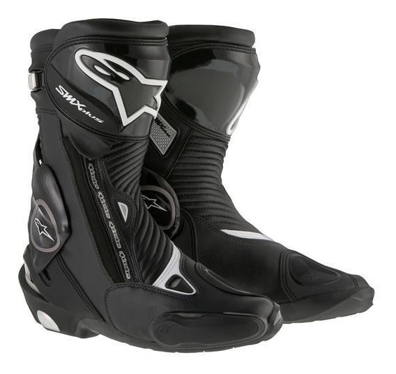 Bota Alpinestars S-mx Plus Motociclista Racing Couro