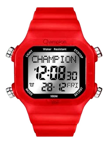 Relógio Champion Unisex Cp40180x Troca Pulseira
