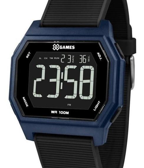 Relógio X-games Masculino Digital Quadrado - Xgppd115 Pxpx