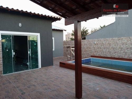 Imagem 1 de 30 de Casa Com 2 Dormitórios À Venda, 80 M² Por R$ 220.000,00 - Unamar - Cabo Frio/rj - Ca0005