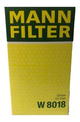 Filtro Aceite W 8018  (mann Filter)