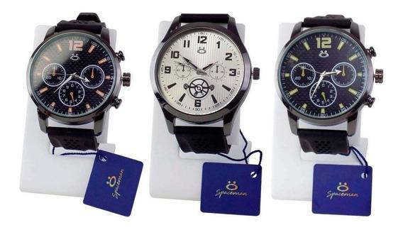 Kit 3 Relógios Masculinos Orizom Original Garanta + Nf