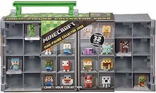 Caso Minecraft Mini Figura Del Colector