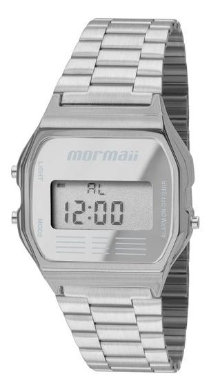 Relógio Mormaii Feminino Vintage Digital Mojh02aa/3c Prata