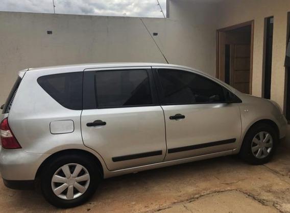 Nissan Livina 1.6 Prata Flex 2010 - Ipva Quitado Completo