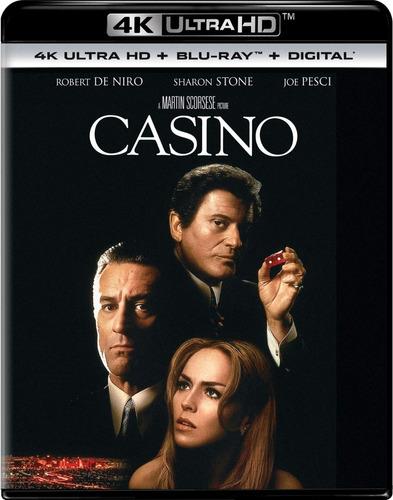 4k Ultra Hd + Blu-ray Casino / De Martin Scorsese