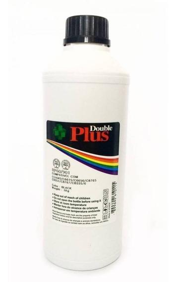 1 Litro Tinta Preta Double Plus Pigmentada 60 122 901 21