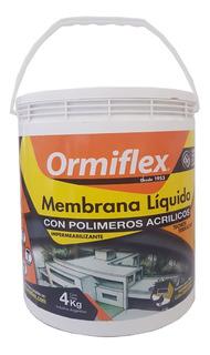 Membrana Líquida Acrílica Terracota 4 Kg Ormiflex Sibaco