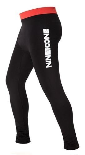 Calza Termica Pantalon Invierno Abrigo Ninetoone Rival Negro