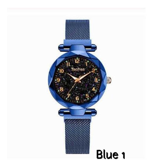 Relógios Femininos Casuais Lindos Modelos Céu Estrelado