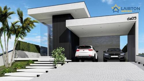 Imagem 1 de 21 de Casa Com 3 Dormitórios À Venda, 223 M² Por R$ 1.500.000 - Figueira Garden - Atibaia/sp - Ca2345