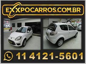 Ford Ka 1.0 Flex - Ano 2013 - Completo - Bem Conservado