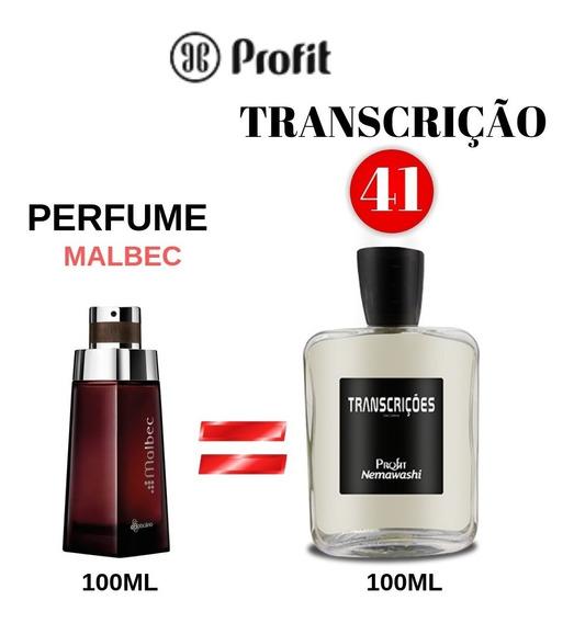 Perfume Malbec Transcrição Numero 41 Profit Inspirado Malbec