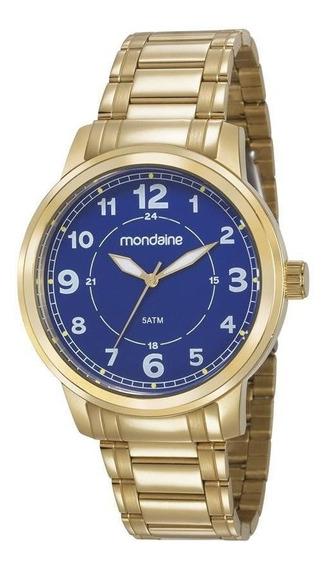 Relógio Masculino Mondaine Dourado 83418gpmvda2