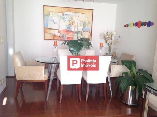 Apartamento Com 4 Dormitórios À Venda, 160 M²  - Campo Belo - São Paulo/sp - Ap26450