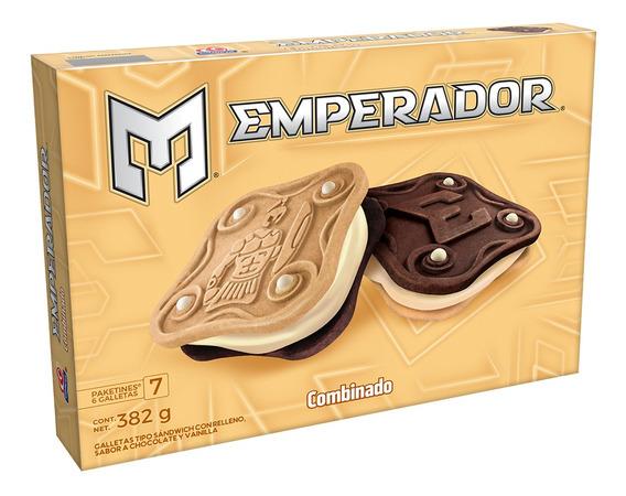 Caja Galletas Emperador Sabor Combinado382grs.