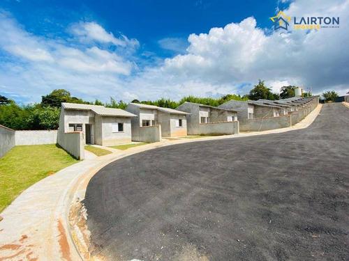 Casas Térreas À Venda No Residencial Vida Nova I Em Atibaia Sp - Ca2060