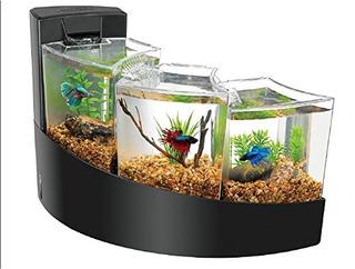 Aqueon Betta Falls Kit Acuario Multiple Decorativo Filtro