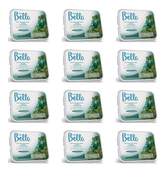 Depil Bella Cera Depilatória Algas 1kg (kit C/12)
