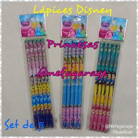 2 Set De Lapices Infantiles Disney, Niñas