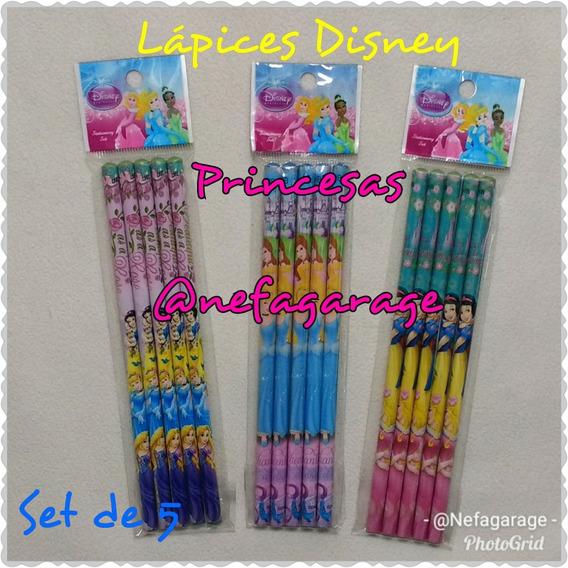 Set De Lapices Infantiles Disney, Niñas