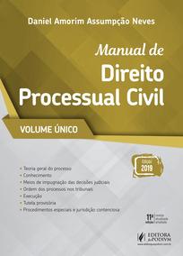 Manual De Processo Civil - Vol. Único (2019
