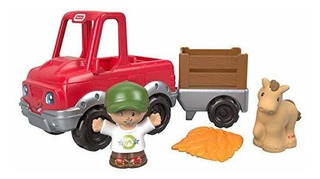 Fisher-price Little People Handy Helper, Camión Agrícola